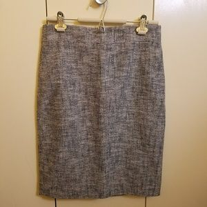 NWT J.Crew lightweight tweed pencil skirt 8 Petite